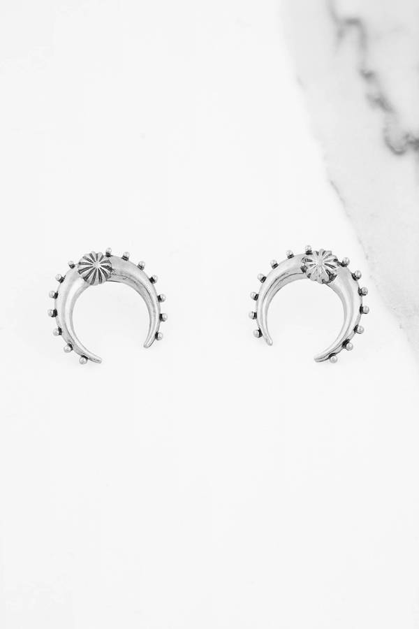 product sparkle earrings stock co snowflake arva ear back premium silver studs jewellery in