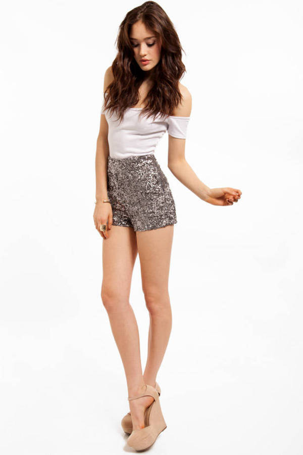Diva Sequined Shorts