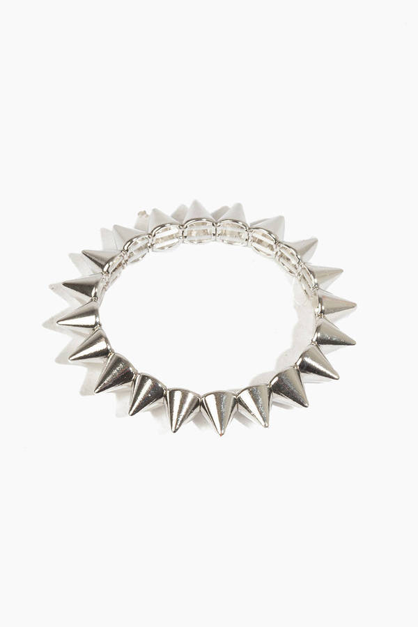 Spike Along Bracelet