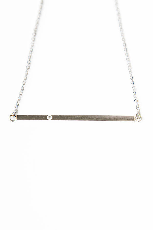 Straight to the Bar Necklace