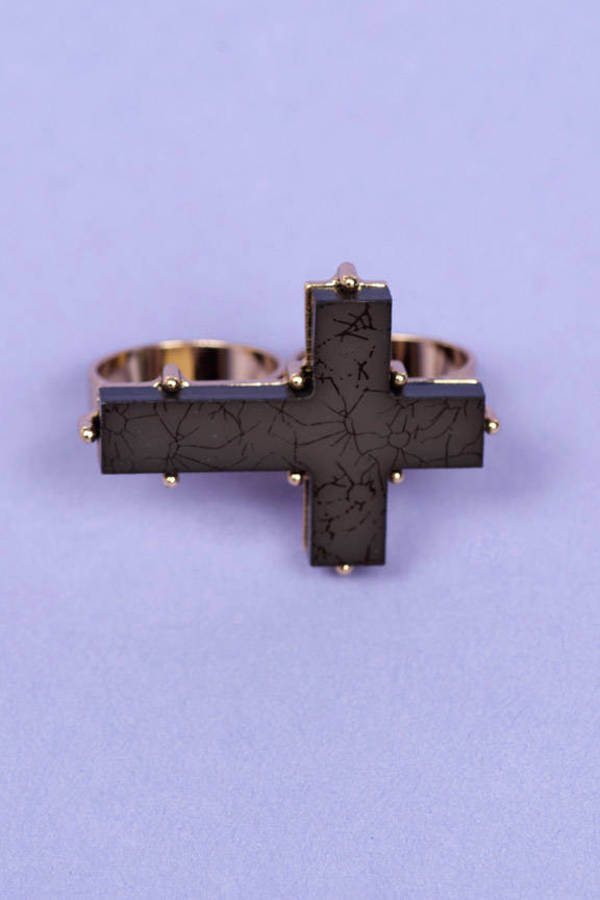 Vintage Cross Ring