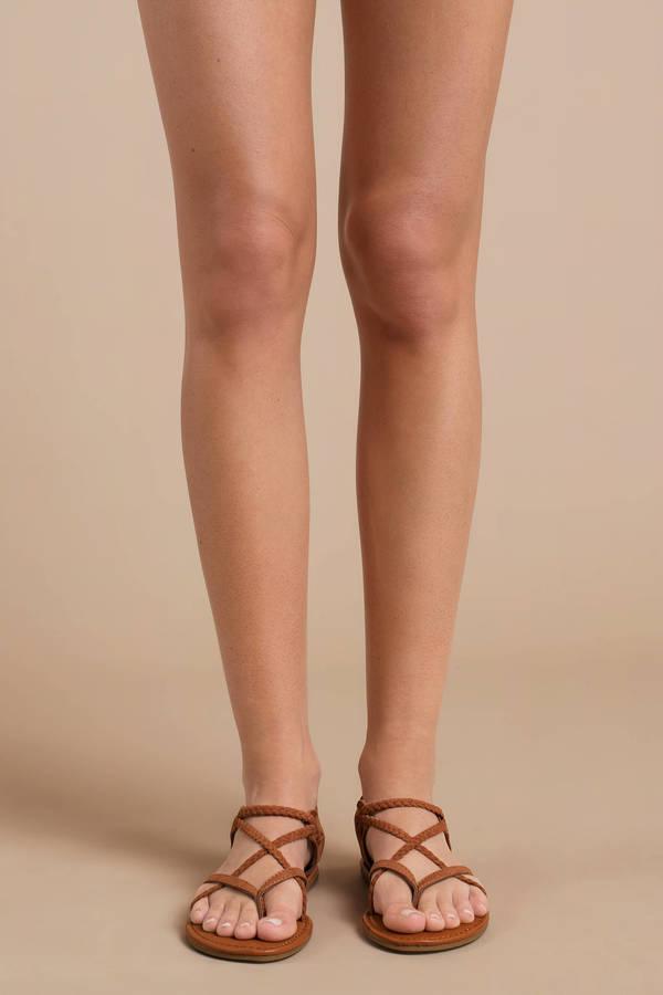Adrianna Braided Sandals