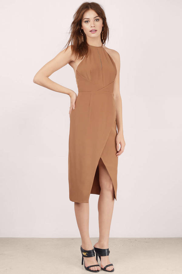 Tan Dress | Shop Tan Dress at Tobi