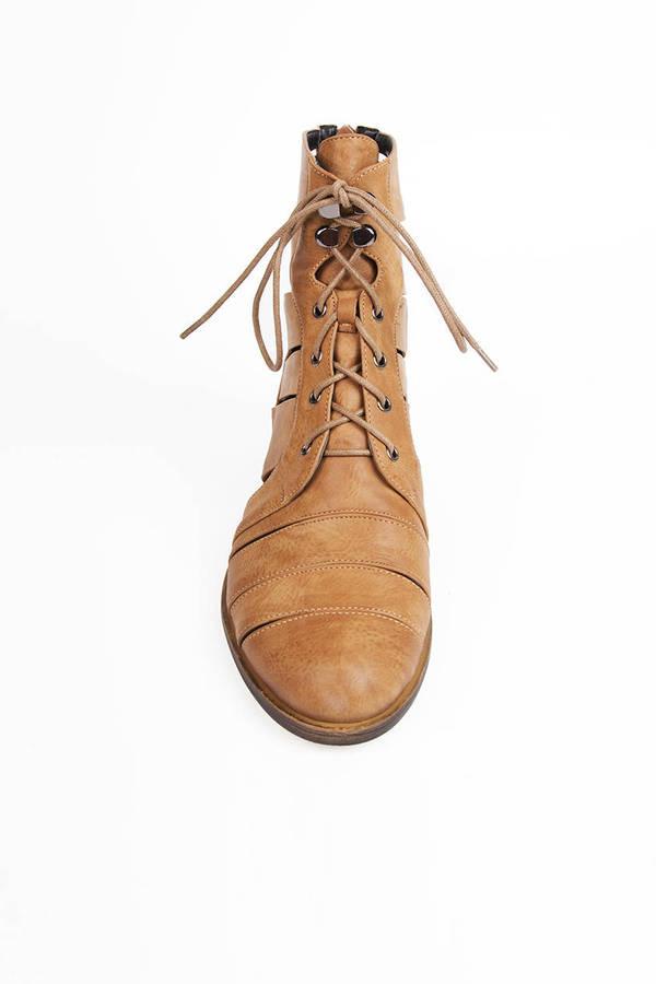 Christina Cutout Boots