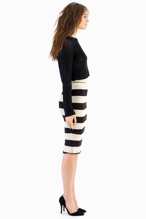 Pusher Pencil Skirt