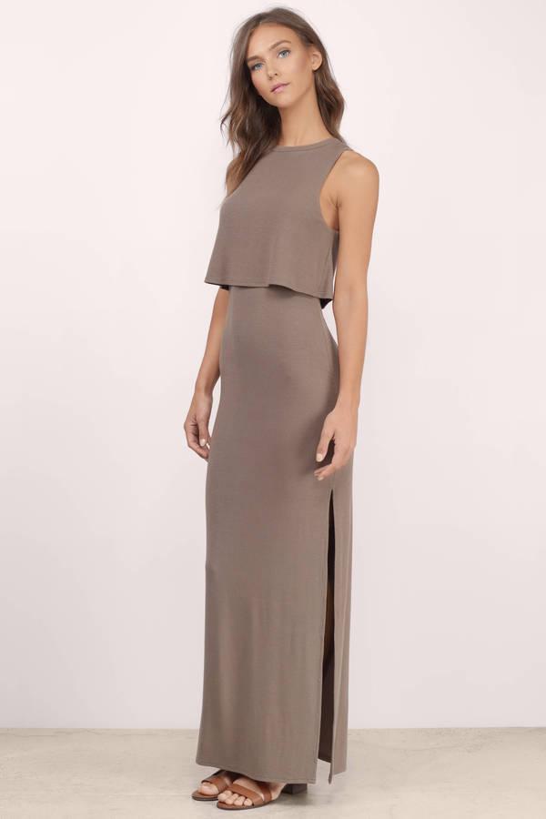 High neck maxi dress forever 21