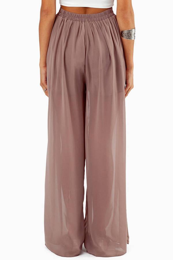 Sheena Sheer Pants