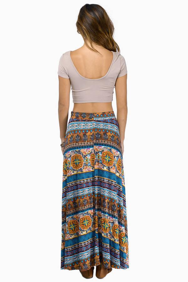 Balmoral Maxi Skirt