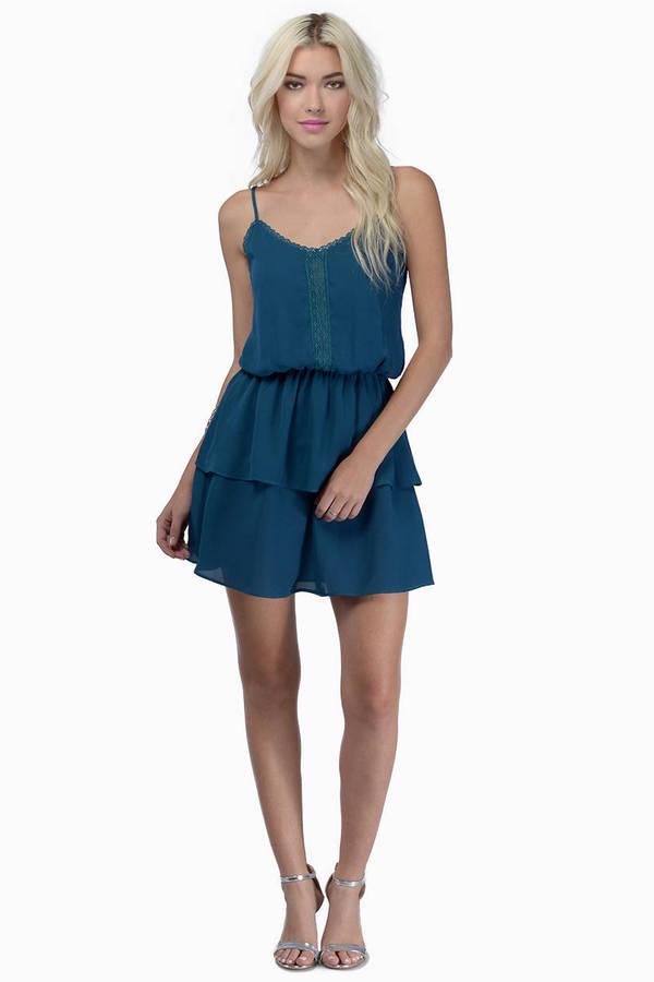 Venetian Ruffled Dress