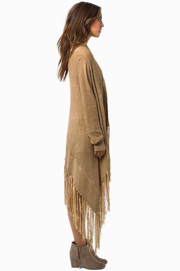 Eileene Fringed Kimono