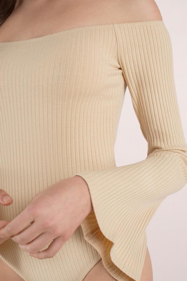 7b3ad6ab35ba Cute Toast Bodysuit - Bell Sleeve Bodysuit - Toast Bodysuit - £17 ...