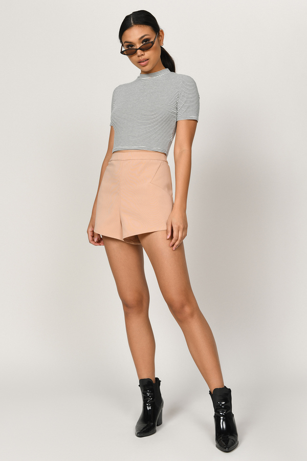 Cute Toast Shorts - High Waisted Shorts - Toast Shorts - $42.00