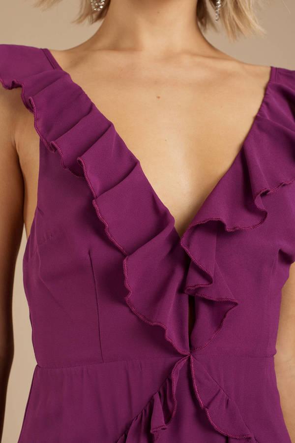 Violet Purple Dresses