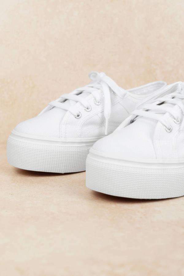826d2cd687e Superga Superga 2790 Acotw White Classic Sneakers Superga Superga 2790  Acotw White Classic Sneakers ...