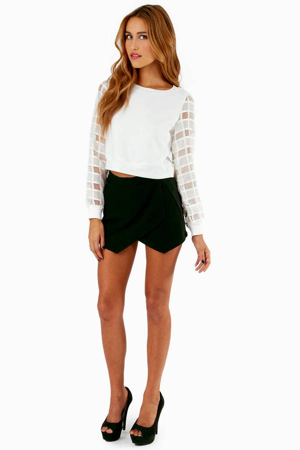 Anza Checkered Top