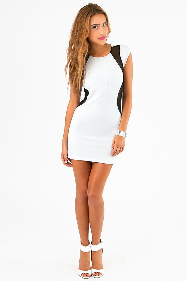 Be My Lava Bodycon Dress