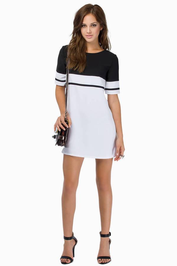 My Stripe Shift Dress