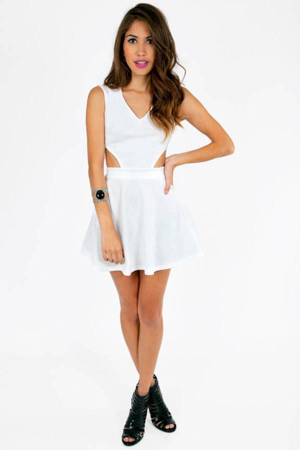 Bossy Side Cut Dress