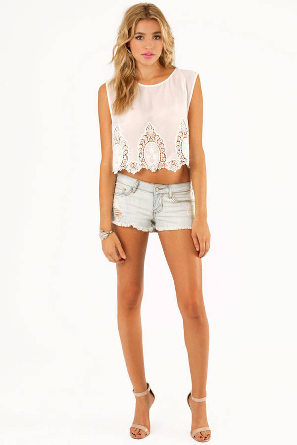 Bottom Betty Embroidered Tank