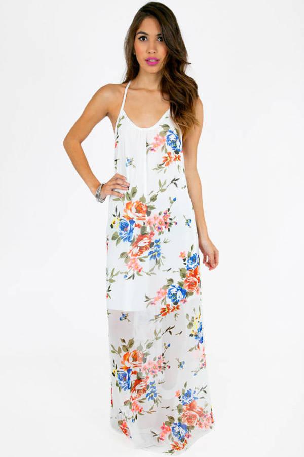 Step Into Spring Maxi Dress