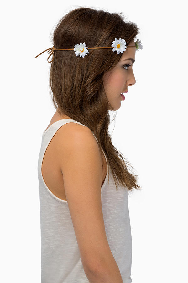 Frolic Floral Headband Tie