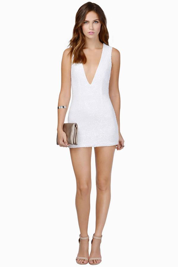 Gwyn Sequin Bodycon Dress