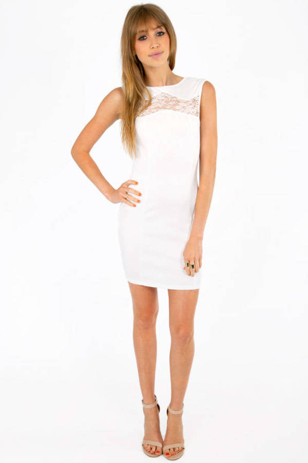 Kar Lagers Bodycon Dress