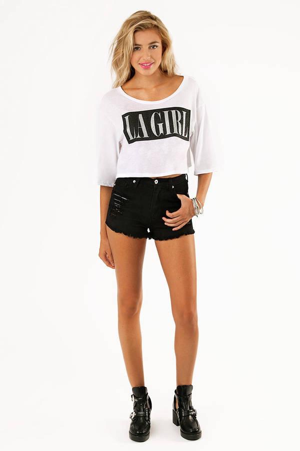 LA Girl Crop Top