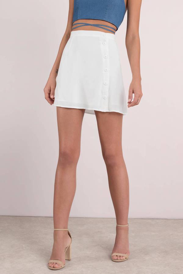 6d2f7d725488 Michelle Black Side Button Skirt Michelle Black Side Button Skirt ...