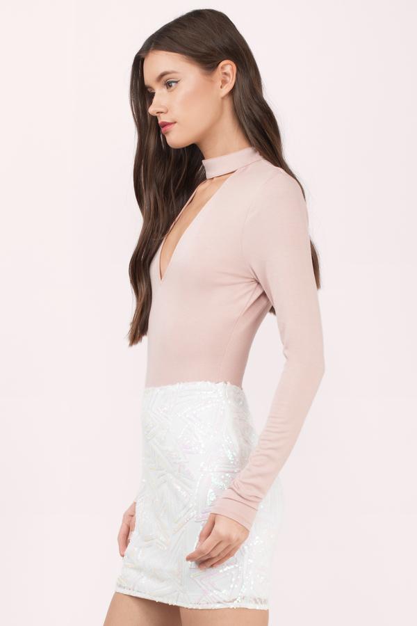 19840798153 Stellar Sequin Mini Skirt