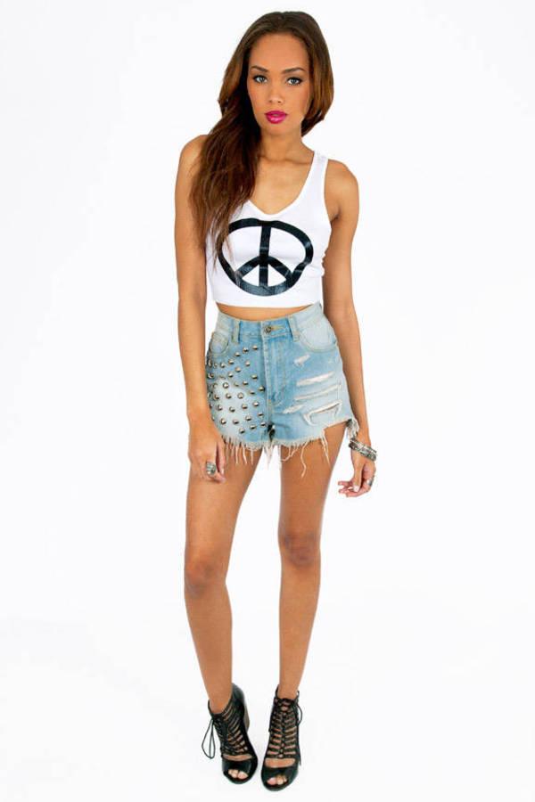 Peace Up Tank Top