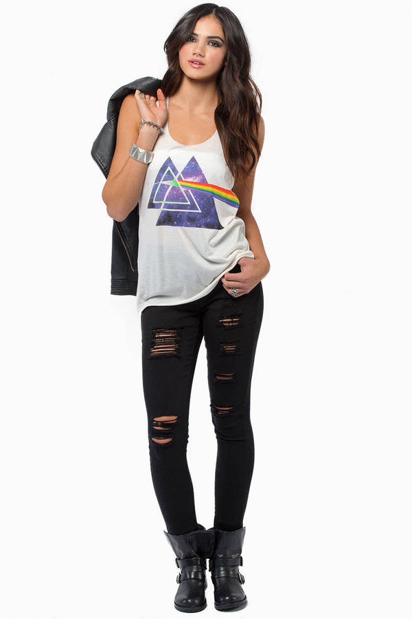 Prism Effect Tank Top