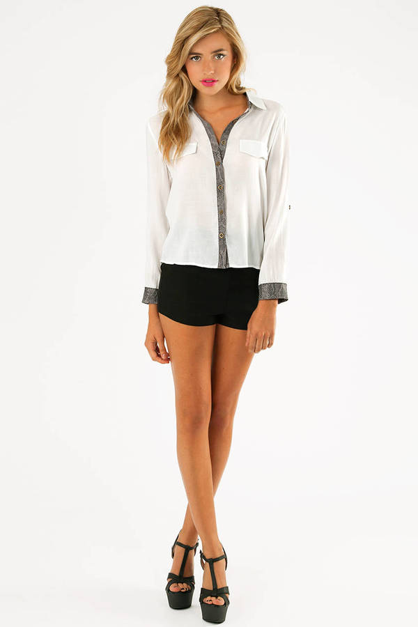 Shelly Button Up Blouse