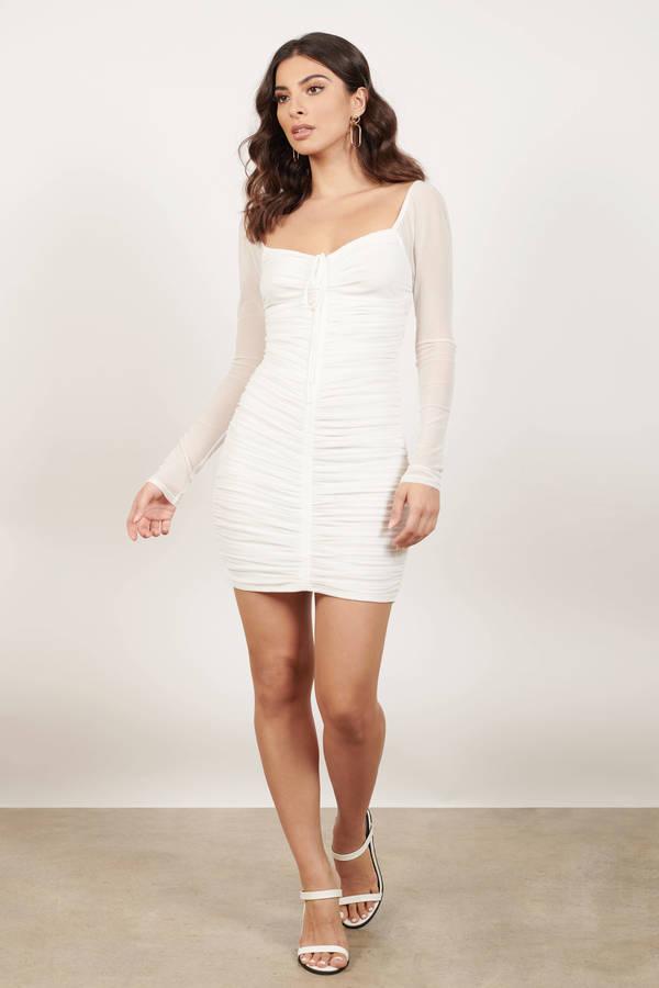 Bachelorette Party Dresses White