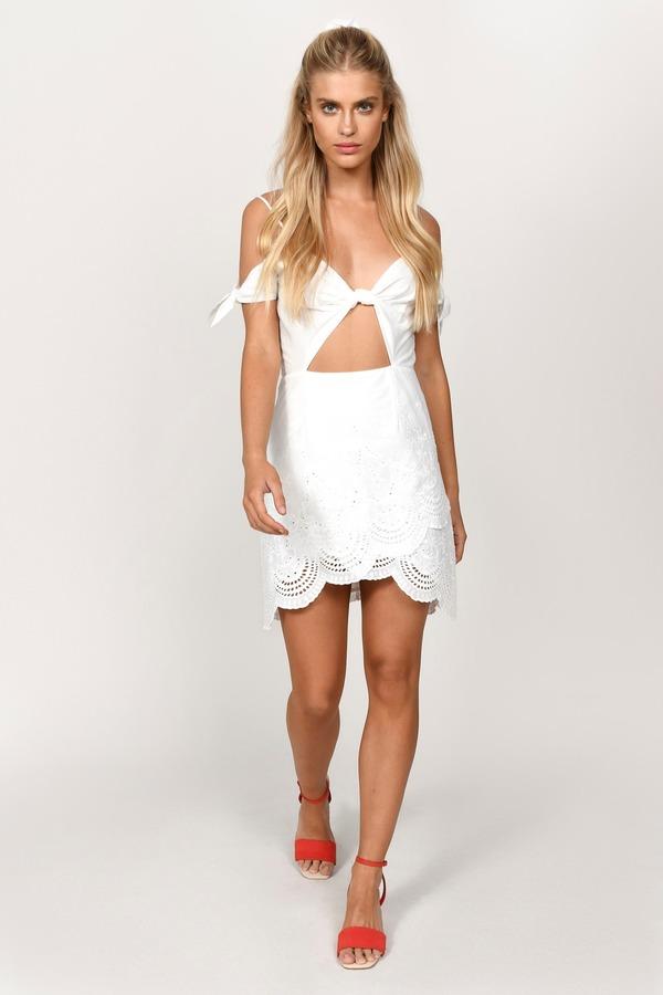 199348494fbe White Dresses | White Lace Dress, Cute Little White Dress | Tobi