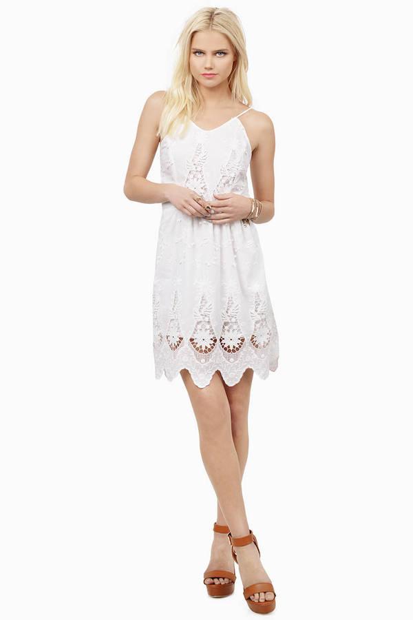Cheap white day dresses