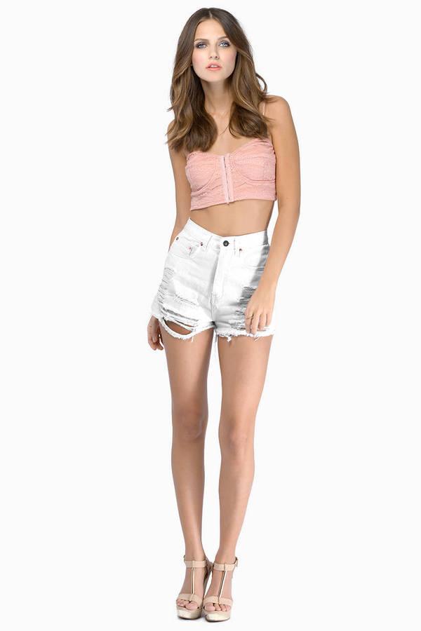 Trinity Denim Shorts