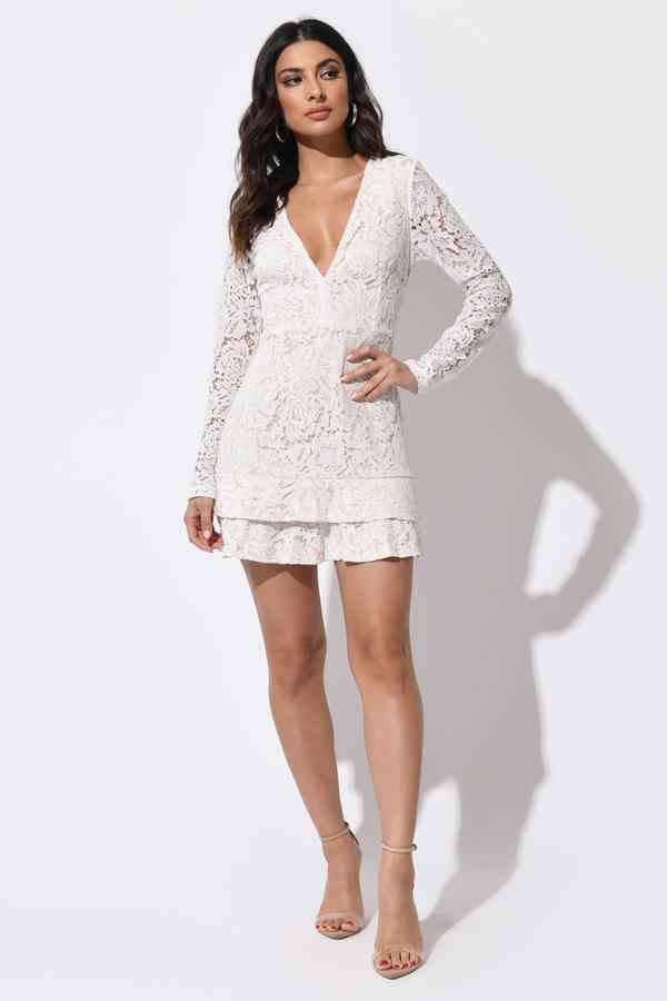 fefa1d557 White Dresses | White Lace Dress, Cute Little White Dress | Tobi