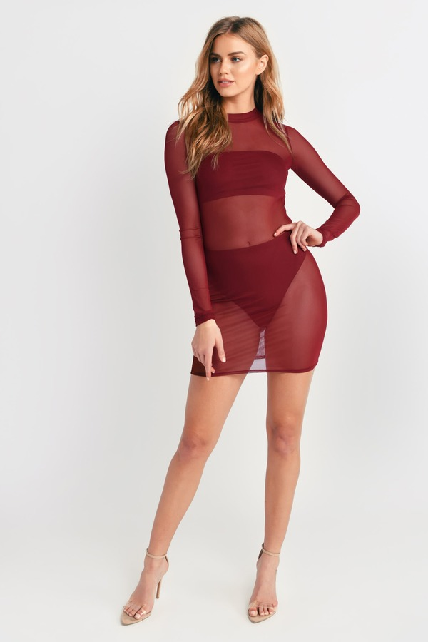 ed0fe00ef5f5 Bodycon Dresses | Tight Dress, White Lace, Sexy Black, Fitted | Tobi