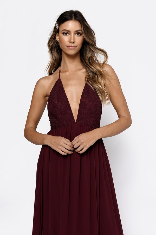 ... Tobi Red Dresses, Wine, City Limits Lace Maxi Dress, Tobi
