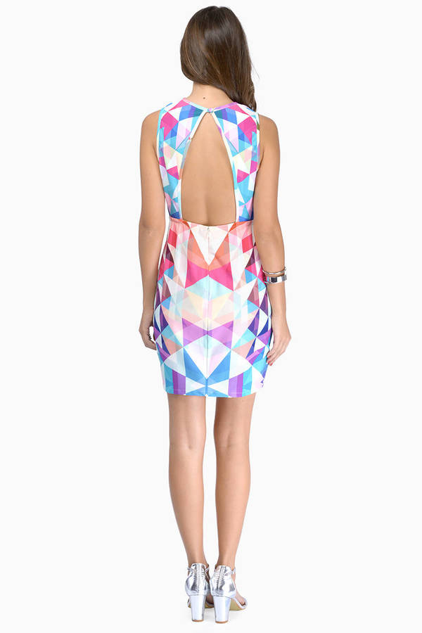 Fairground Blondie Short Dress