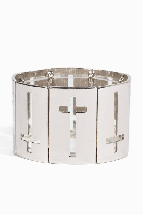 Cross Cutout Bracelet