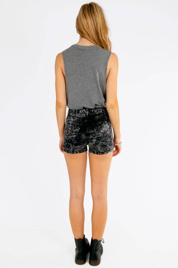 Alma High Waisted Shorts