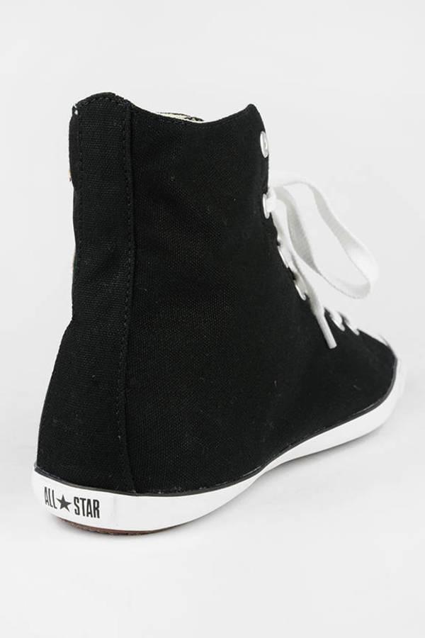 969810d534da Black Converse Sneakers - All Star Sneakers - Black Chuck Taylors ...