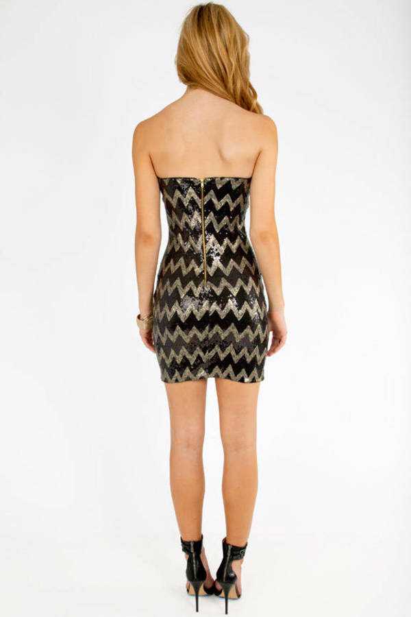 Sequined Angles Dress