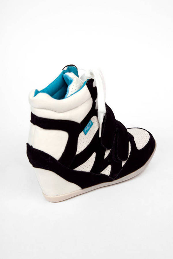 Sugar Hyper Sneaker Wedges