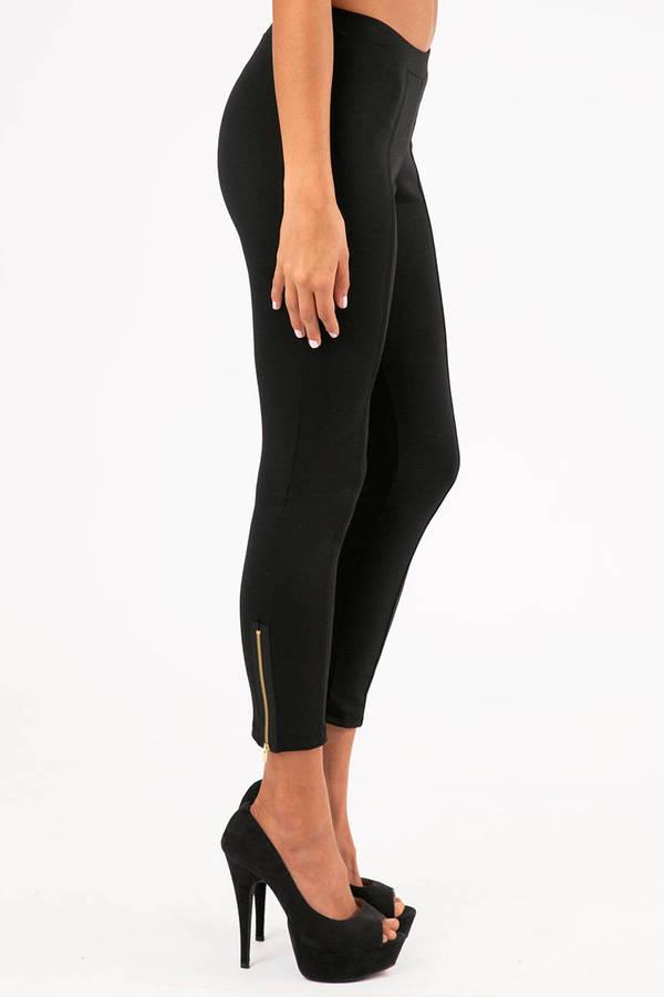 Ankle Zip Leggings
