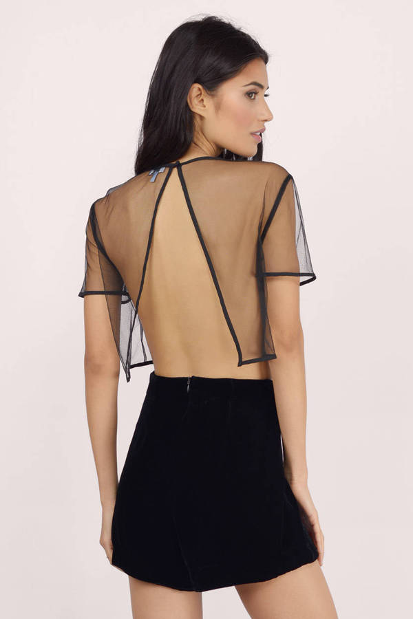 K TOO Free, fast shipping on Black Sheer Diamond Mesh Crop Top at Dolls Kill an online boutique for punk fashion. Shop graphic tees, rave bodysuits, & shoes JavaScript seems to be disabled in .