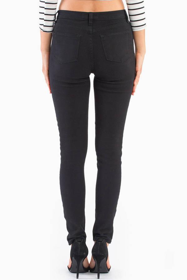 Brandy Distressed Skinny Jeans