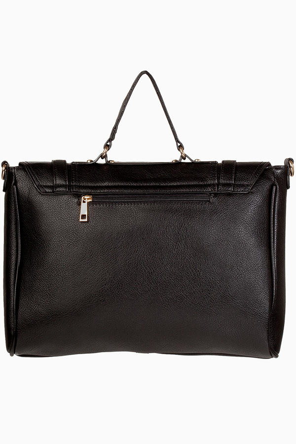 Accents Buckle Down Handbag